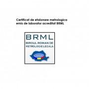 Certificat De Etalonare...