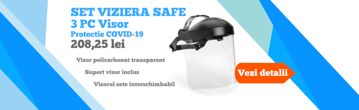 SET VIZIERA SAFE 3 PC Visor